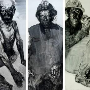 "80 Li Xiaolin, ""The Survivor No.1"", print, 110 x 150 cm, 2009"