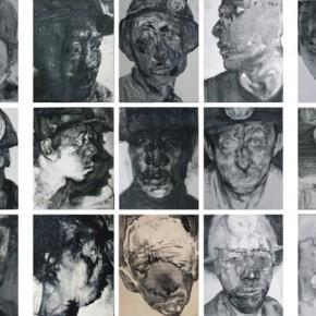 """82 Li Xiaolin, """"The Survivor"""" series, print, 200 x 600 cm, 2008-2014"""