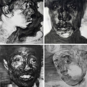 "83  Li Xiaolin, ""The Survivor"", print, 100 x 88 cm, 2011"