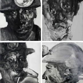 "84 Li Xiaolin, ""The Survivor"", print, 100 x 80 cm, 2010"