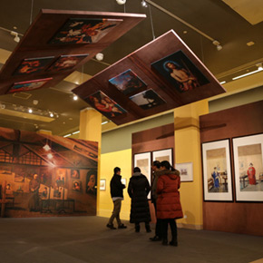 """""""The Age of Progress–An Academic Exhibition on the History of Chinese Watercolor"""" grandly opened at NAMOC"""