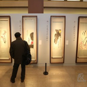 04 Installation view of the exhibition1 290x290 - Artists of the People: Exhibition of Paintings Collected by Lao She and Hu Jieqing opened at the National Art Museum of China