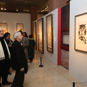 06 Installation view of the exhibition1 290x290 - Artists of the People: Exhibition of Paintings Collected by Lao She and Hu Jieqing opened at the National Art Museum of China