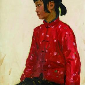 06 Wen Lipeng, The Little Girl Xiaomin, oil on cardboard, 54 x 39.2 cm, 1978
