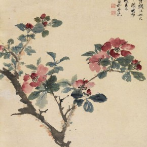 10 Xie Zhiliu Camellia color on paper 57.5 x 48 cm 290x290 - Artists of the People: Exhibition of Paintings Collected by Lao She and Hu Jieqing opened at the National Art Museum of China