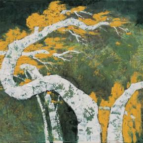 101 Wen Lipeng, Life No.1, mixed media on canvas, 90 x 116 cm, 2014