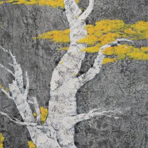 102  Wen Lipeng, Life No.5, mixed media on canvas, 116 x 90 cm, 2014