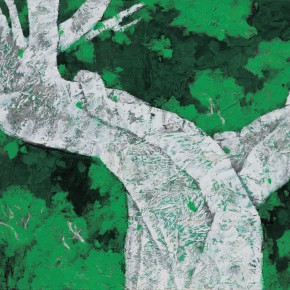 103 Wen Lipeng, Life No.3, mixed media on canvas, 80 x 114 cm, 2014