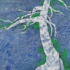 105 Wen Lipeng, Life No.2, mixed media on canvas, 71 x 92 cm, 2014