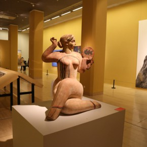 """11 View of sculpture work 290x290 - """"Chinese Freehand Art – Invitational Exhibition of the National Art Museum of China"""" opened at the National Art Museum of China"""