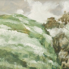 115 Wen Lipeng, Clouds Disorderly Flying, oil on canvas, 27 x 35 cm, 2002