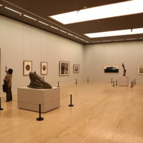 """12 Installation view of the exhibition hall of print 290x290 - """"Chinese Freehand Art – Invitational Exhibition of the National Art Museum of China"""" opened at the National Art Museum of China"""