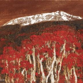 130 Wen Lipeng, Plateau Daydream No.2, oil on canvas, 27 x 35 cm, 2010