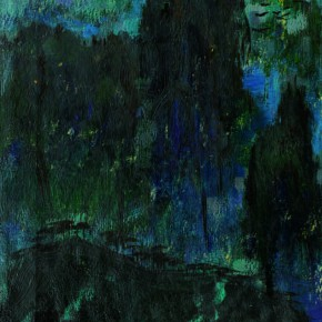 138 Wen Lipeng, Morning, oil on cardboard, 25.2 x 18.2 cm, 1961