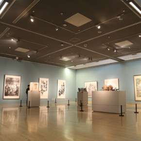 """14 Installation view of the exhibition hall of Chinese painting 290x290 - """"Chinese Freehand Art – Invitational Exhibition of the National Art Museum of China"""" opened at the National Art Museum of China"""