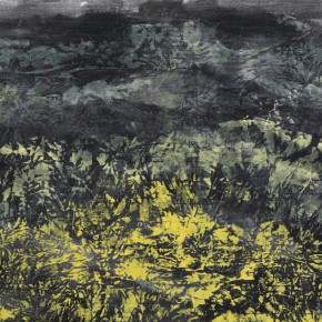 145 Wen Lipeng, 90-13 Series No.6, oil and mixed media on canvas, 40 x 50 cm, 2013