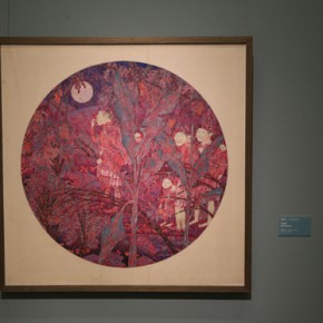 """15 The exhibiting work 290x290 - """"Chinese Freehand Art – Invitational Exhibition of the National Art Museum of China"""" opened at the National Art Museum of China"""