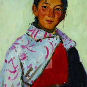 16 Wen Lipeng, Suo Nanji, oil on cardboard, 54 x 39 cm, 1978