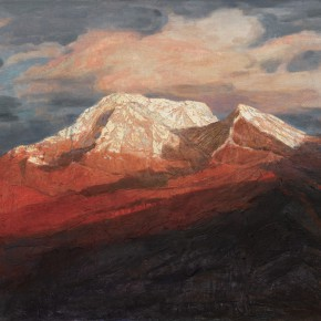 167 Wen Lipeng, The Radiance of the Setting Sun, oil on canvas, 92 x 116 cm, 2008
