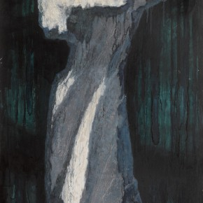 169 Wen Lipeng, The Monument of Tears, oil on canvas, 141 x 92 cm, 1990