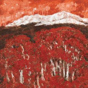 179 Wen Lipeng, Daydream of the Plateau, oil on fiber board, 2010
