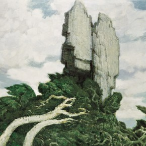 180 Wen Lipeng, Wind and Rain of the End of the World, oil on canvas, 2005