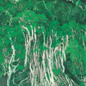 182 Wen Lipeng, The Spring Scenery, oil on canvas, 35 x 27 cm, 2001