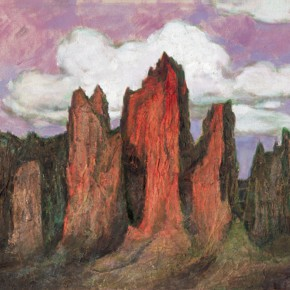183 Wen Lipeng, The Sad Karst No.1, oil on canvas, 77 x 116 cm, 2008