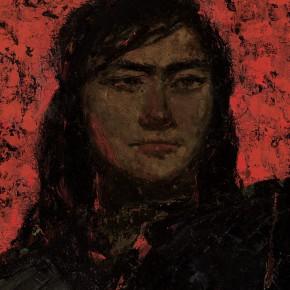 191 Wen Lipeng, The Internationale (detail), oil on board, 240 x 200 cm, 1963 (3)