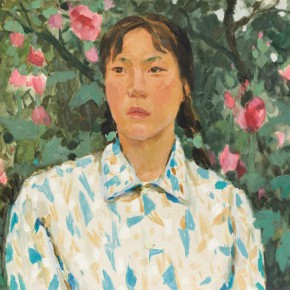 35 Wen Lipeng, Lin Xiuhua, oil on cardboard, 38 x 52.1 cm, 1976