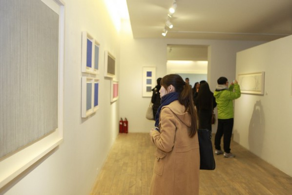 Installation View of Yu Jidong Solo Show 05