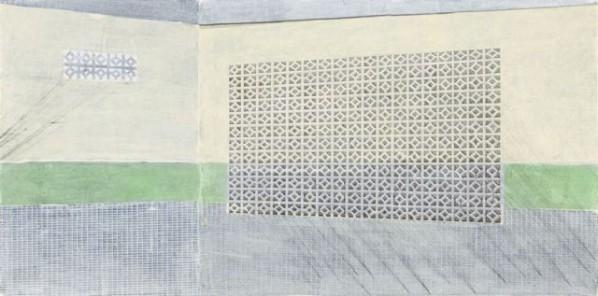 Zeng Hong, Public Laundry No. 1, 2011; Acrylic on canvas, 120x240cm