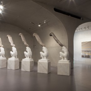 01 Exhibition View of Xu Zhen Solo Exhibition 290x290 - Xu Zhen Solo Exhibition Unveiled at Long Museum