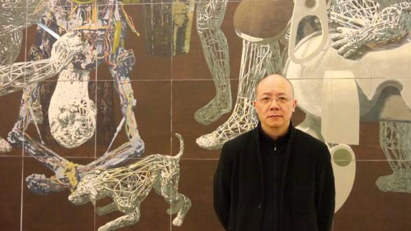 01 The artist Miao Xiaochun