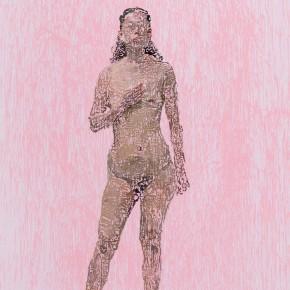02 Yuan Yuan, She No.2, oil on canvas, 200 x 100 cm, 2014