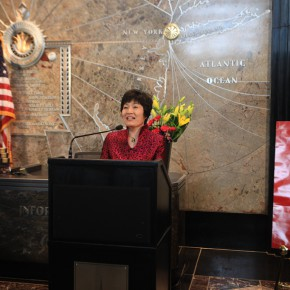 03 Ms. Zhang Qiyue, Chinese Consulate-General in New York addressed