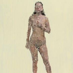 04 Yuan Yuan, She No.2, oil on canvas, 300 x 180 cm, 2013