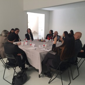 """06 View of the """"Discussion•Dialogue""""  290x290 - Content—Liu Liyun Solo Exhibition Opened at Amy Li Gallery"""