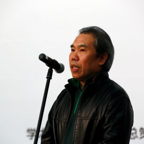 """06 Wang Shaojun Deputy Party Secretary of CAFA 290x290 - """"The Way of Type: A Dialogue on Typography"""" Activity Started at CAFAM Focusing on the Beauty of Chinese and Western Types"""