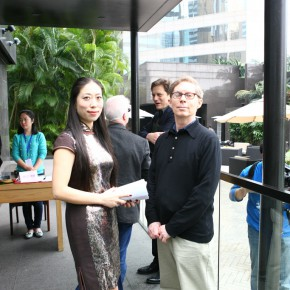 06 Zou Ling, Director of Chongqing Changjiang Contemporary Art Museum and Christopher Phillips, Chief Curator of the International Center of Photography