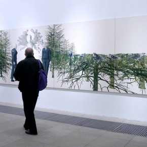 """07 Installation view of the exhibition 290x290 - """"Man-Machine Integration"""" New Aesthetics–Miao Xiaochun: Save As Opened in Beijing"""