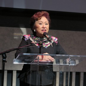 """07 The opening ceremony of """"Fantastic Art China"""" series of activities was presided over by Shirley Young, Chairman of the US-China Institute"""