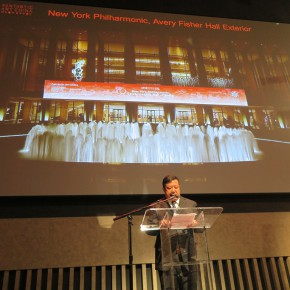 """08 Professor Yu Ding, the chief curator of the """"Fantastic Art China"""" programaddressed"""