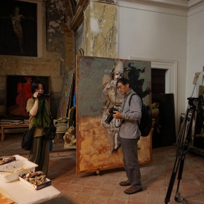 08 View of Kokocinski's studio. 290x290 - Grand Tour: Italy Seen by Chinese Artists' Eyes to be Inaugurated in Museo Nazionale d'Arte Orientale