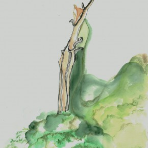 09 He Yisha, The Goddess Who is Waiting