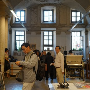 09 Visiting the Italian copperplate etching studio  290x290 - Grand Tour: Italy Seen by Chinese Artists' Eyes to be Inaugurated in Museo Nazionale d'Arte Orientale