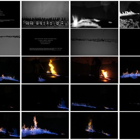"""10 Guan Huaibin Flame Garden 2013 290x290 - """"Not On Site: Absolute Threshold and a Type of Site-Specific Drift"""" opened at AMNUA"""