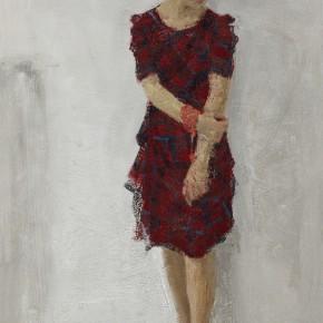 10 Yuan Yuan, He No.1, oil on canvas, 300 x 180 cm, 2013