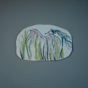 11 He Yisha, porcelain plate painting No.1