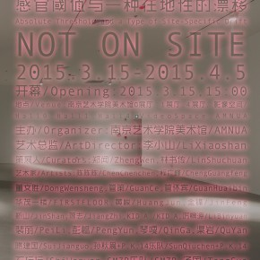 """11 Poster of """"Not On Site Absolute Threshold and a Type of Site Specific Drift"""" 290x290 - """"Not On Site: Absolute Threshold and a Type of Site-Specific Drift"""" opened at AMNUA"""